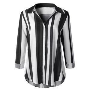 Women's  long sleeve  striped shirt